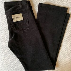 AG The Angel Boot Cut Brown Corduroy Jeans